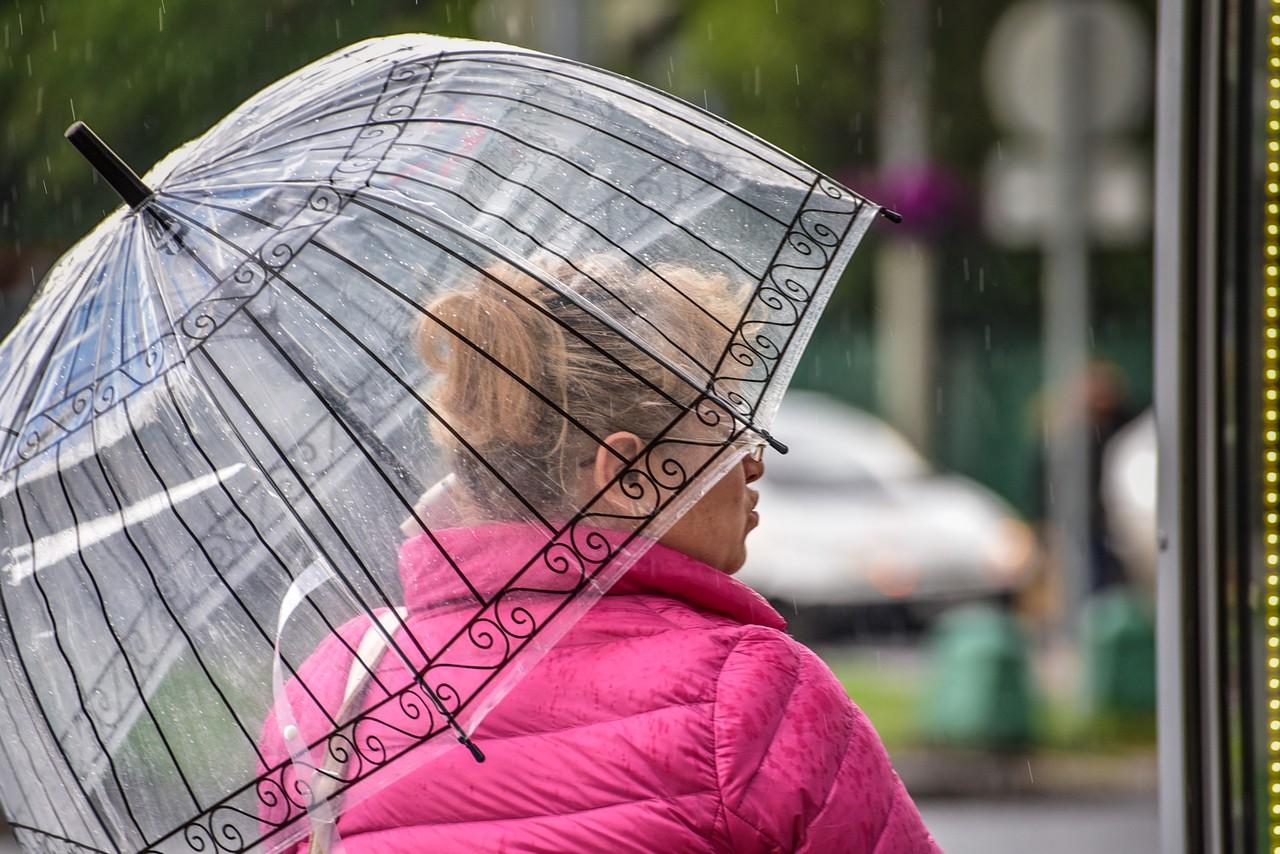 Москвичей предупредили о грозовых дождях