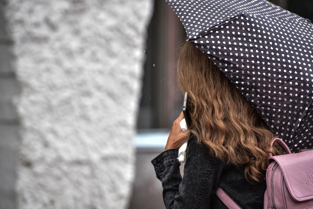 Теплая и дождливая погода ожидается в Москве в субботу
