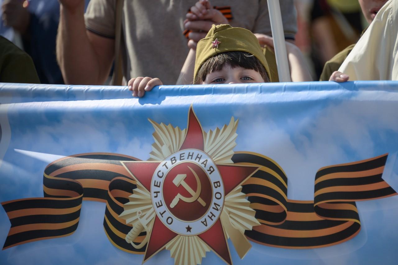 Москву украсят флагами и декоративными конструкциями ко Дню Победы