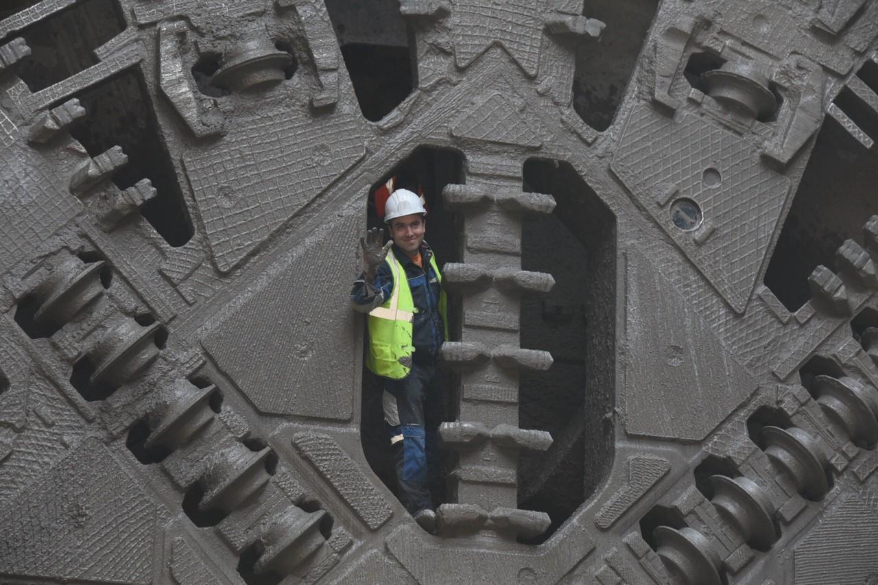 Участок тоннеля БКЛ под станцией метро «Печатники» проложили в Москве