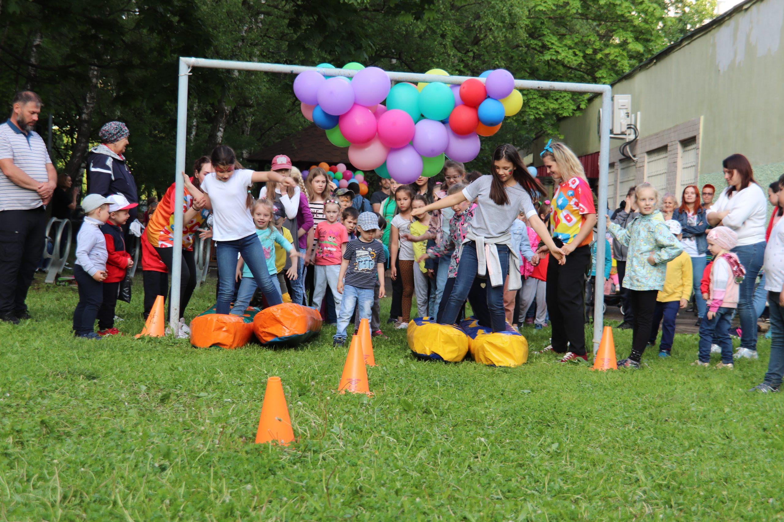 Праздник детства провели в Орехове-Борисове Южном