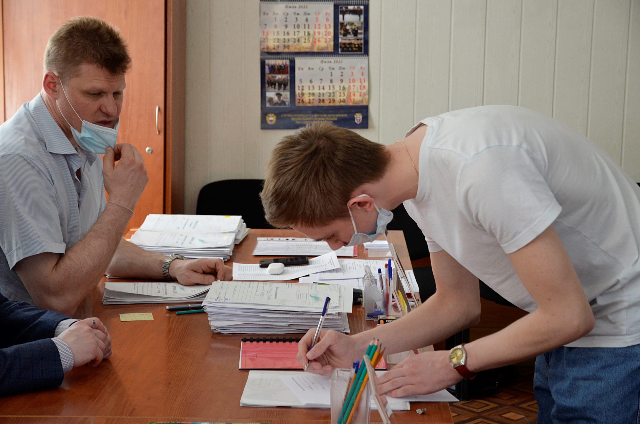 Промежуточные итоги весеннего призыва подвели в Орехове-Борисове Южном