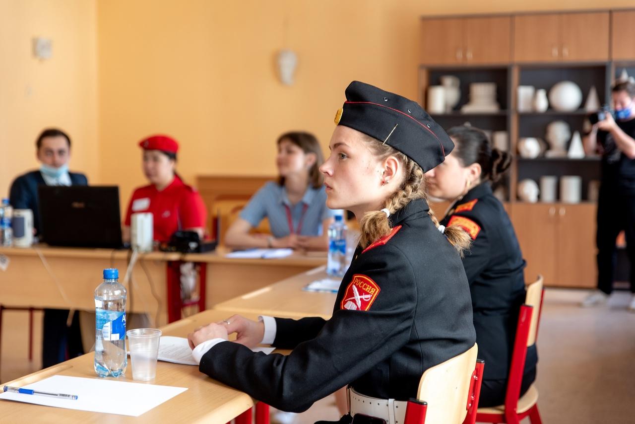 Урок памяти провели в техникуме креативных индустрий имени Леонида Красина