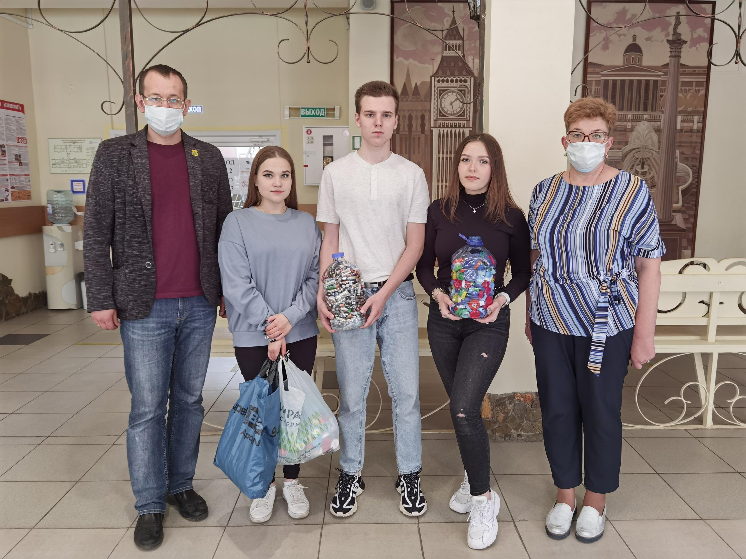 Школьники из Орехова-Борисова Южного провели экологическую акцию