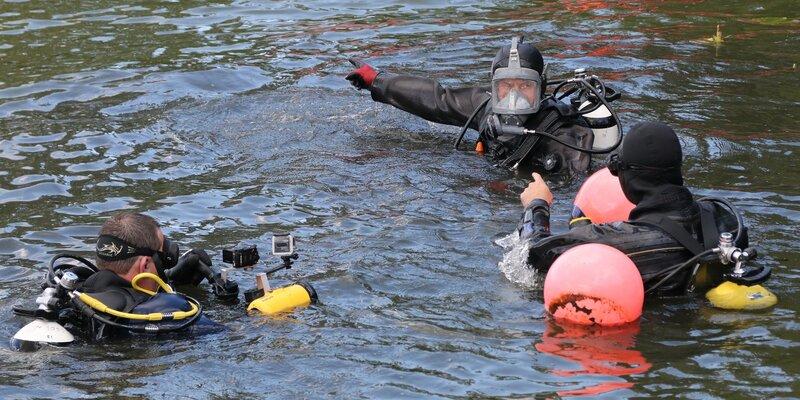 В Московской городской поисково-спасательной службе празднуют День водолаза