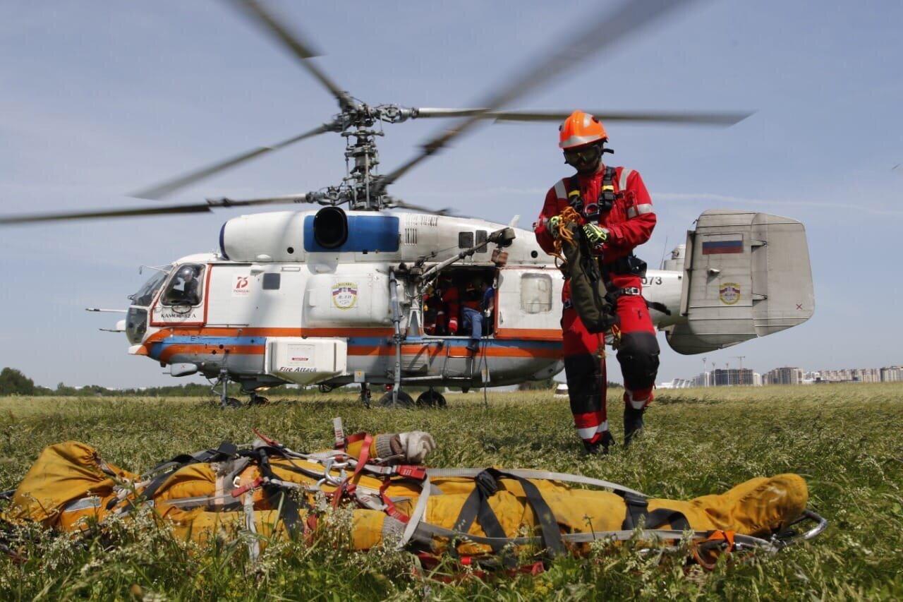 Московский авиацентр рассказал о деятельности и перспективах развития авиации экстренного реагирования