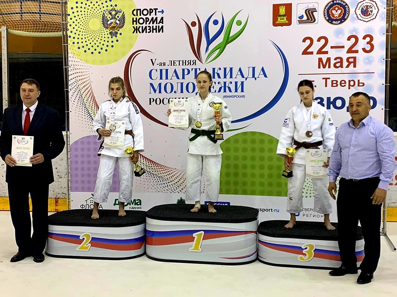 Ученица СШОР №47 выиграла золотой кубок на соревнованиях в Твери