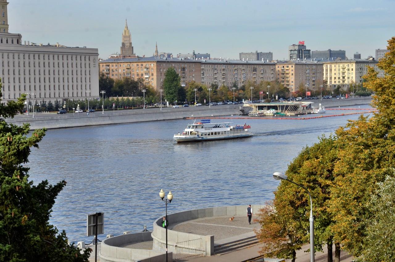 Ремонт пяти набережных проведут в Москве в этом году