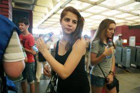В Москве держится аномально жаркая температура. Фото: «Вечерняя Москва»