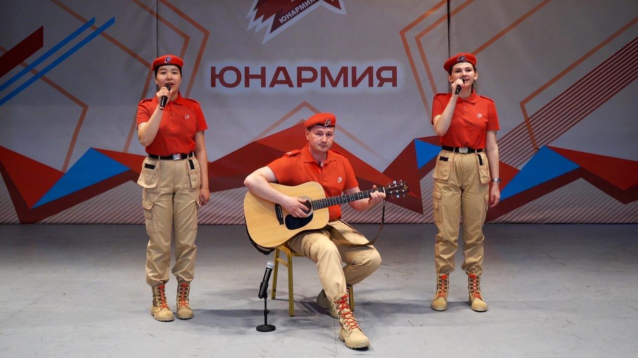 Юнармейцы МГКЭИТ приняли участие в онлайн-фестивале