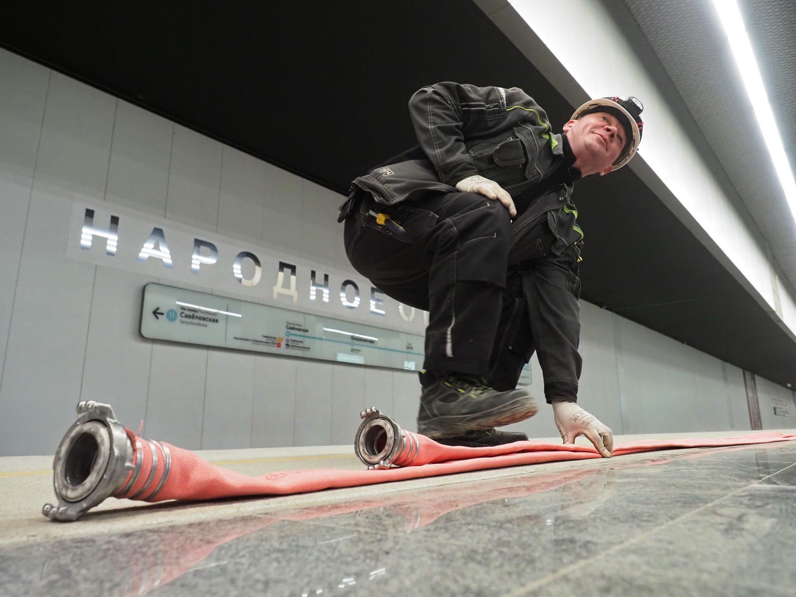 Активное строительство Большого кольца метро продолжается в Москве