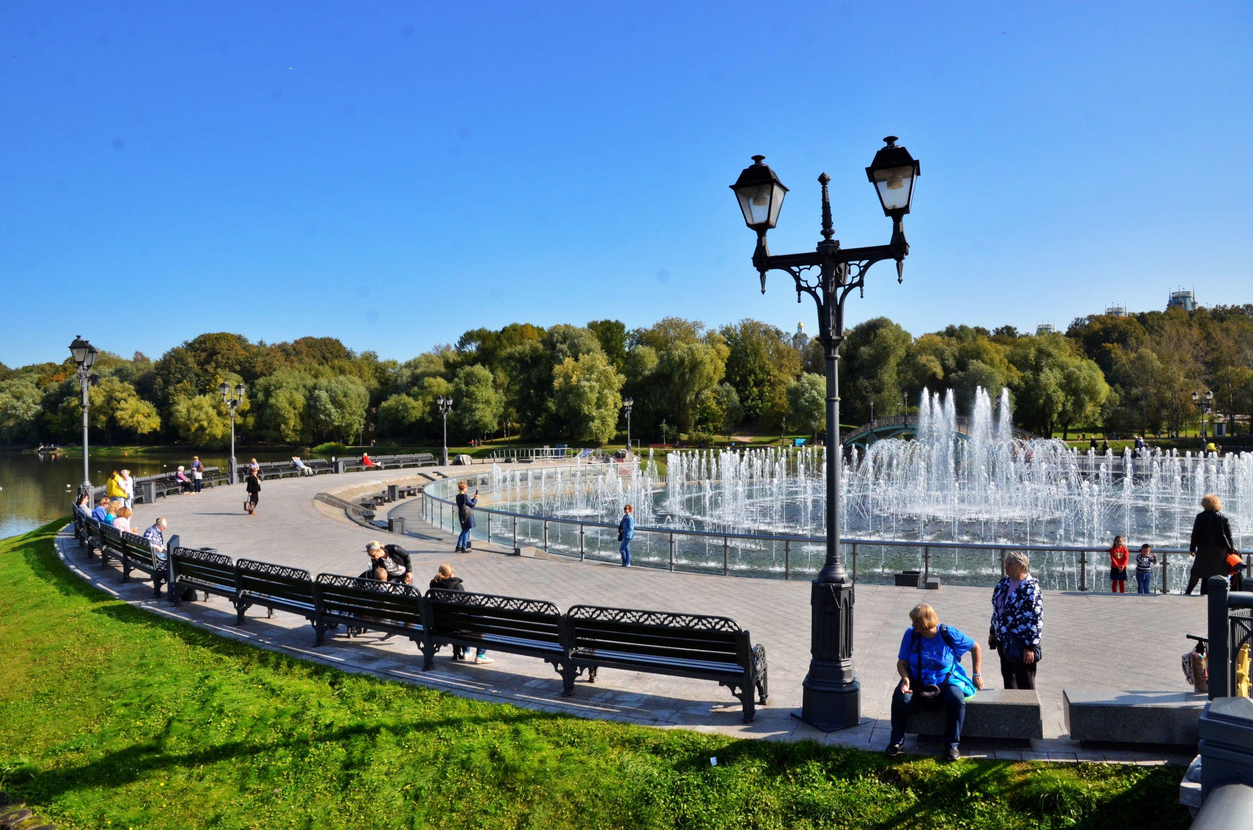 Светомузыкальный фонтан в Царицыне отремонтируют