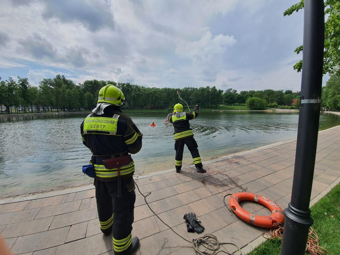 Пожарные ГКУ «ПСЦ» ПСО 203 прошли обучение к началу летнего сезона
