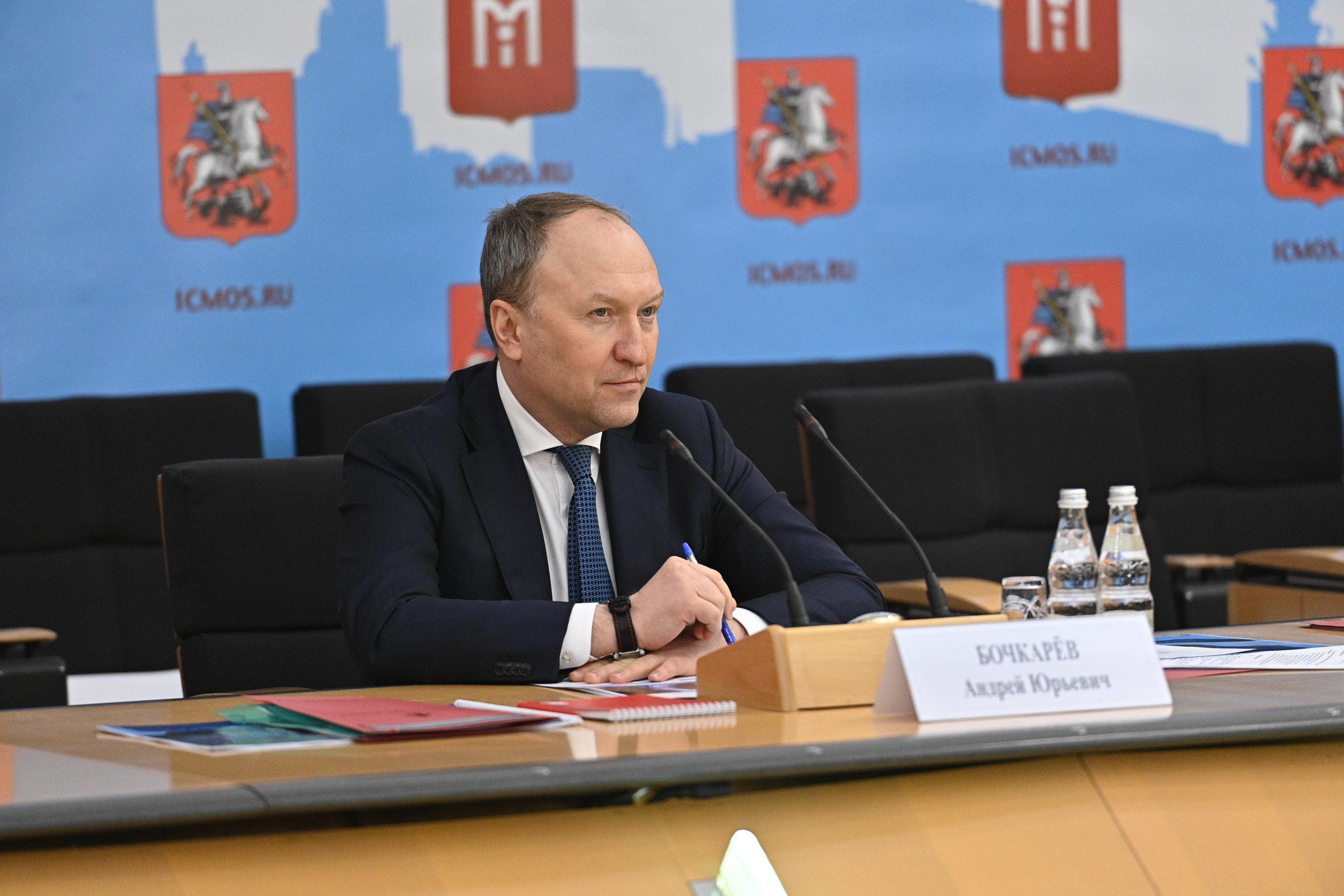 Андрей Бочкарев: Участок ЮВХ от Курьяновского бульвара до Кантемировской улицы готов более чем на треть