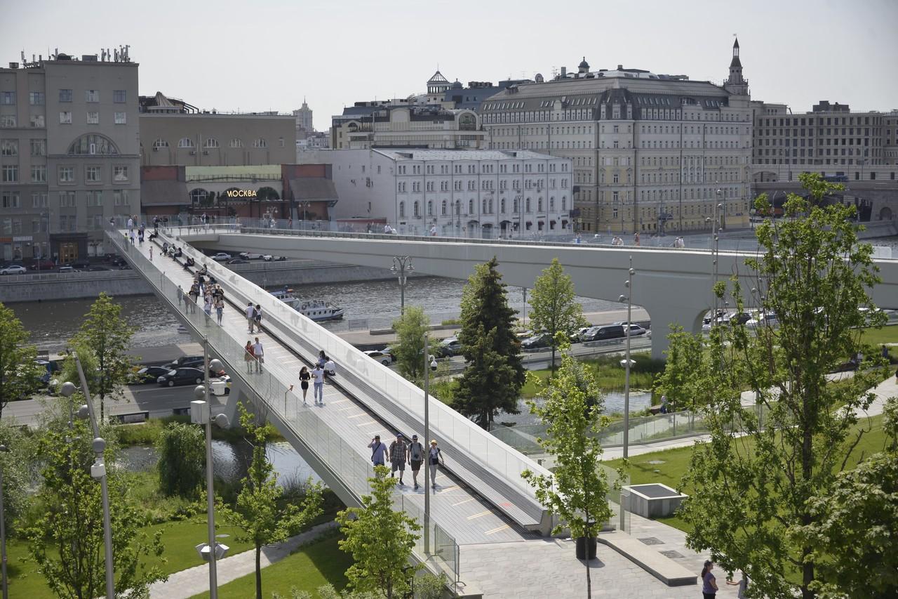 Москву назвали самым безопасным городом на территории России