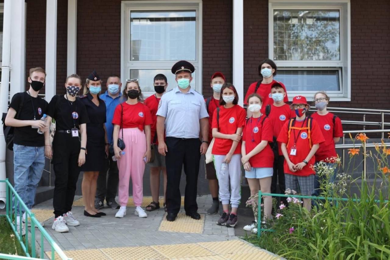 Дети посетили Экспертно-криминалистический и Кинологический центры УВД по ЮАО