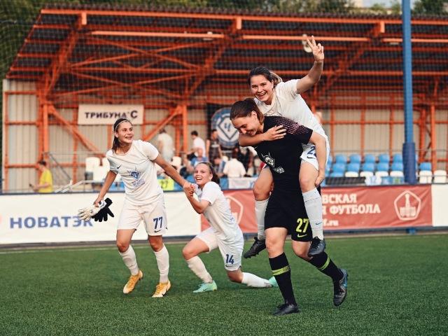 Женская сборная «Чертаново» обыграла казанский «Рубин»