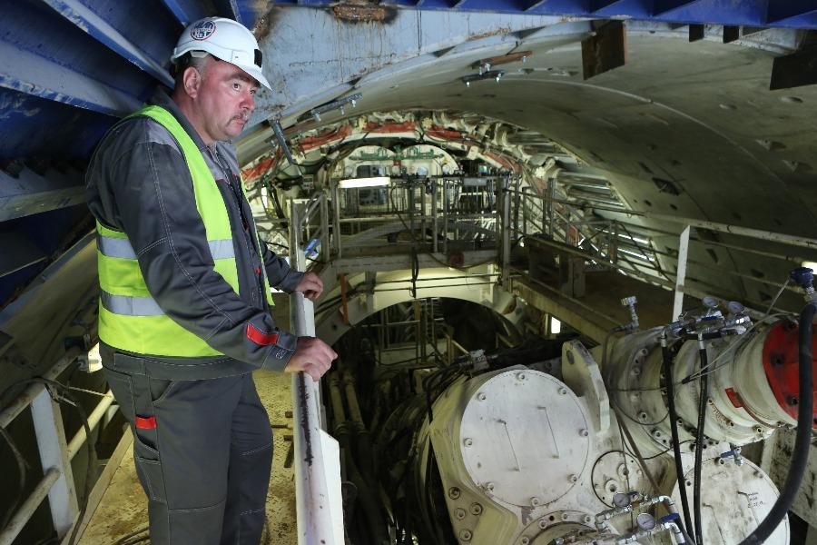 Щит «Победа» завершил проходку тоннеля на восточном участке линии