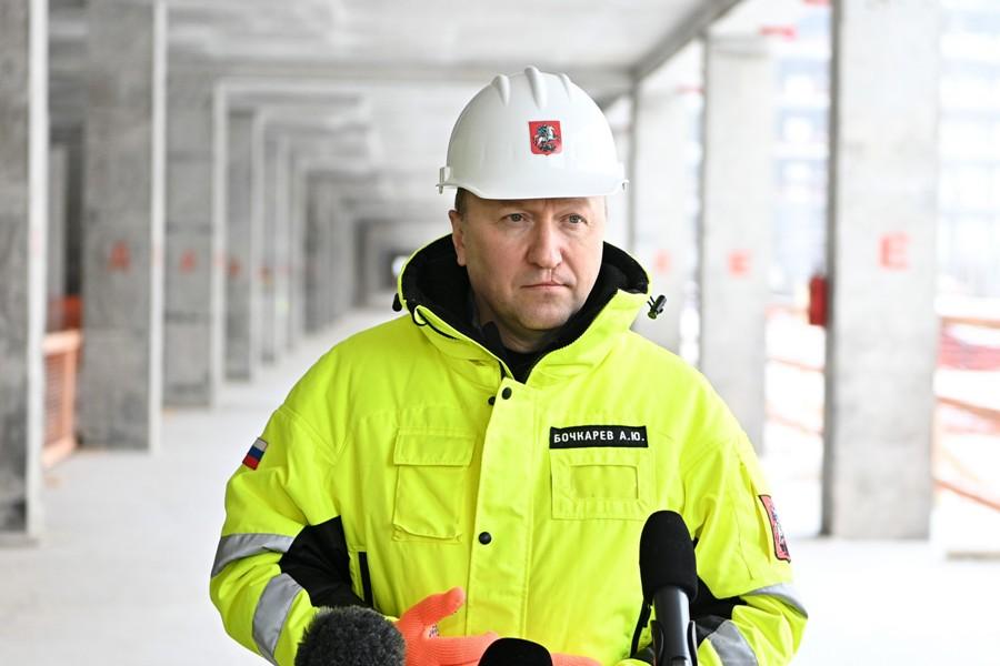Андрей Бочкарев: Готовность северо-восточного участка БКЛ метро составляет 76 процентов