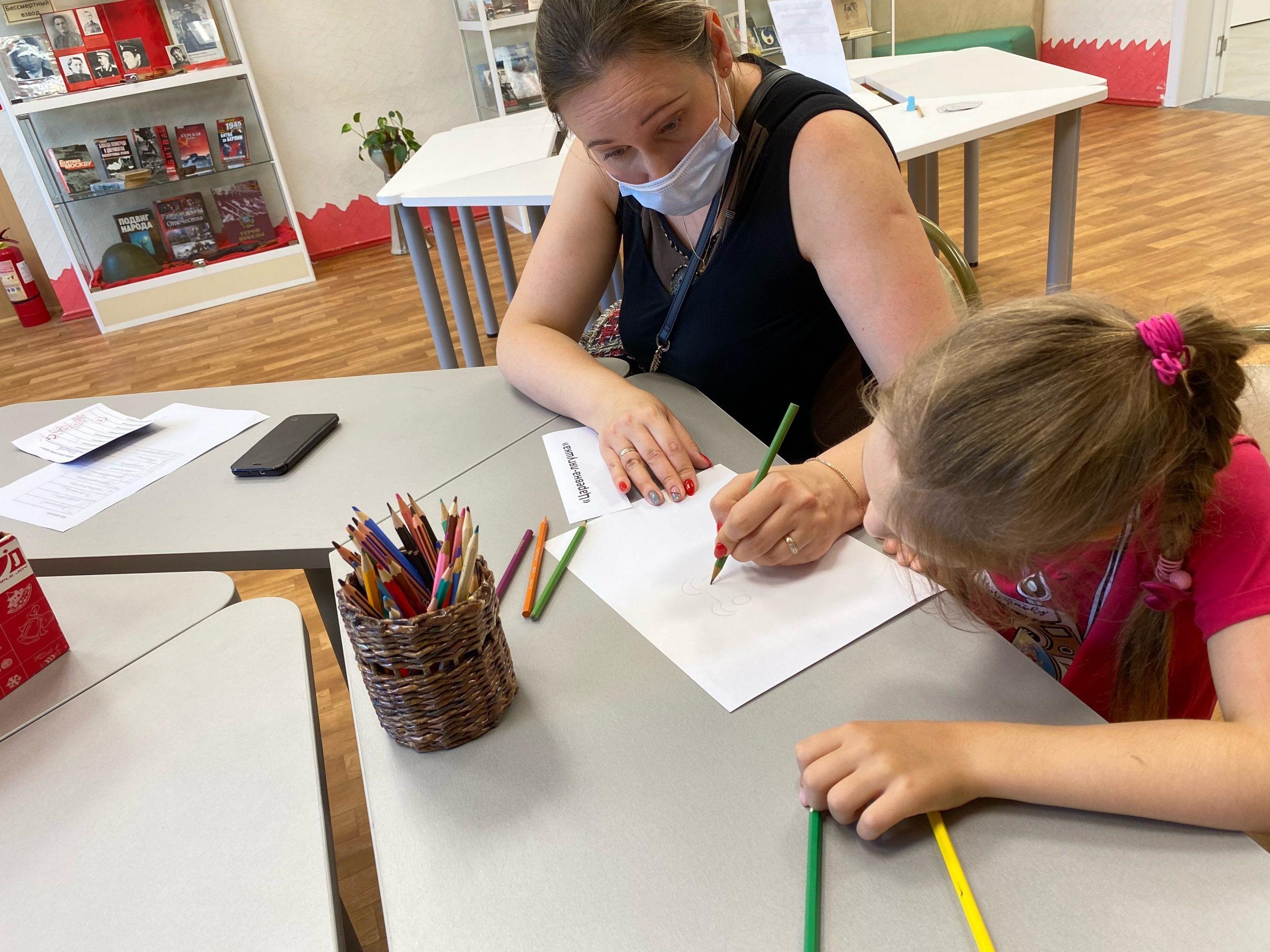 Семейное чтение: в библиотеке №140 провели тематическое мероприятие