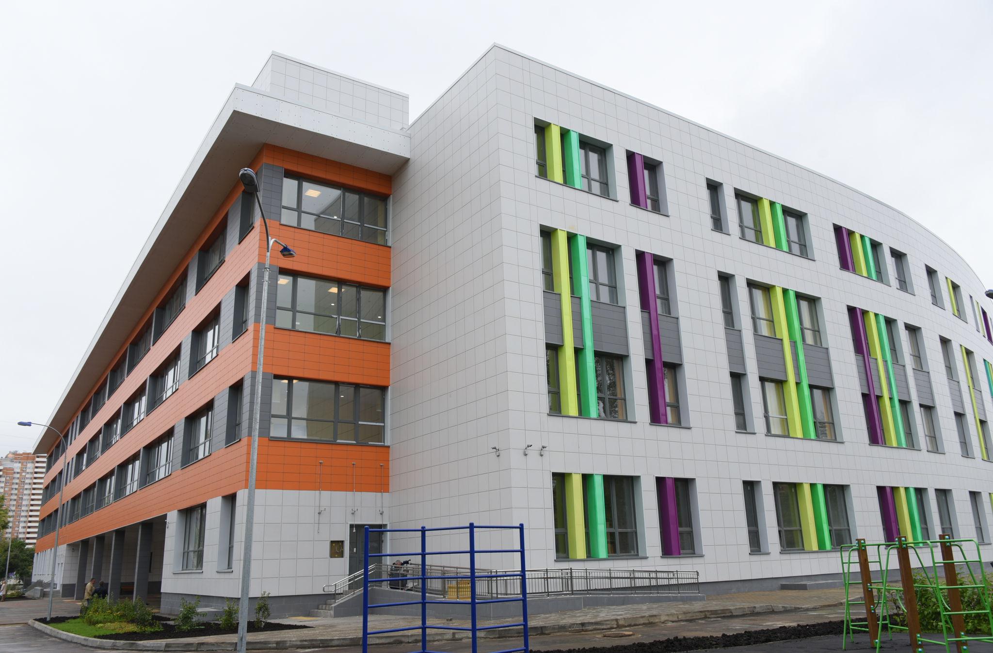 Школу и детский сада построят в Чертанове Северном