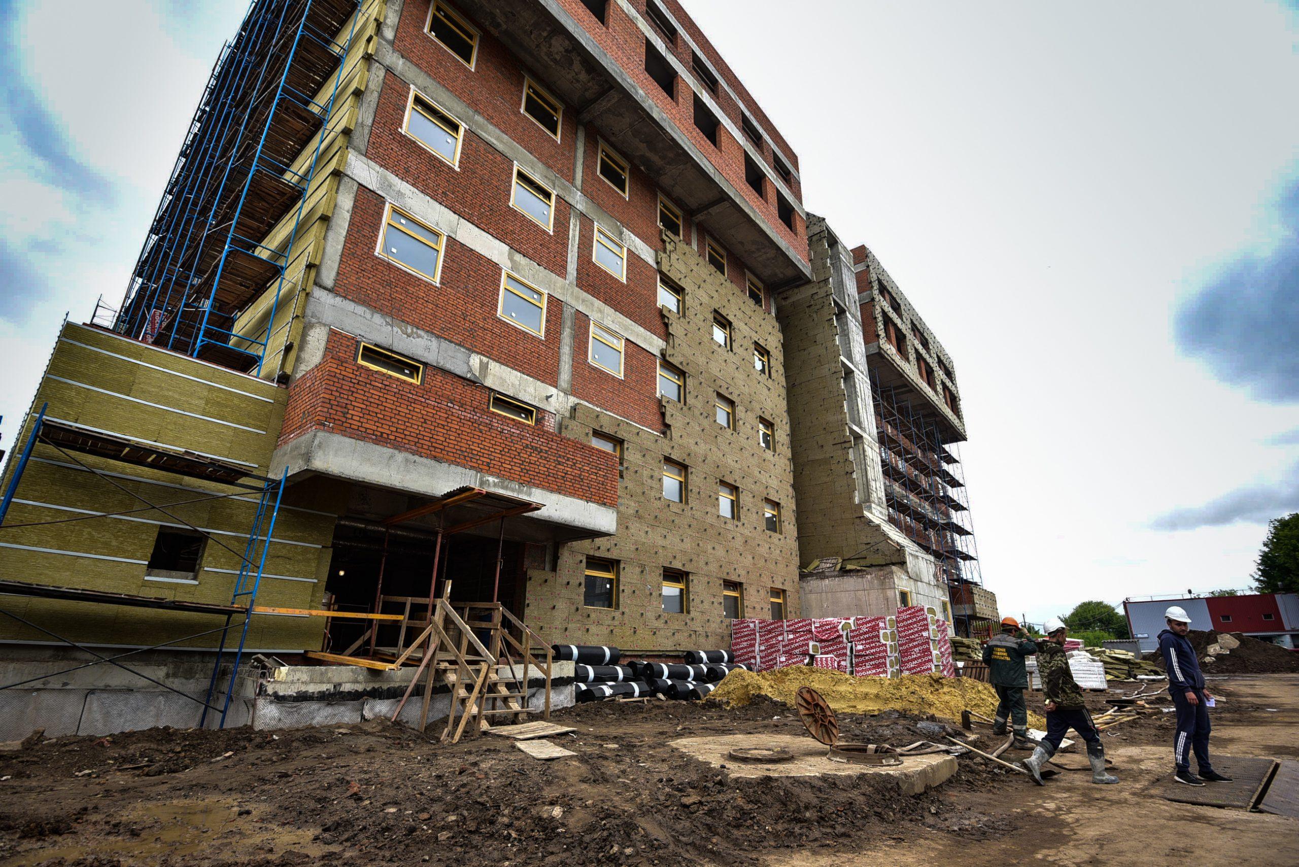 Детско-взрослую поликлинику планируют построить в Даниловском районе. Фото: Пелагия Замятина, «Вечерняя Москва»