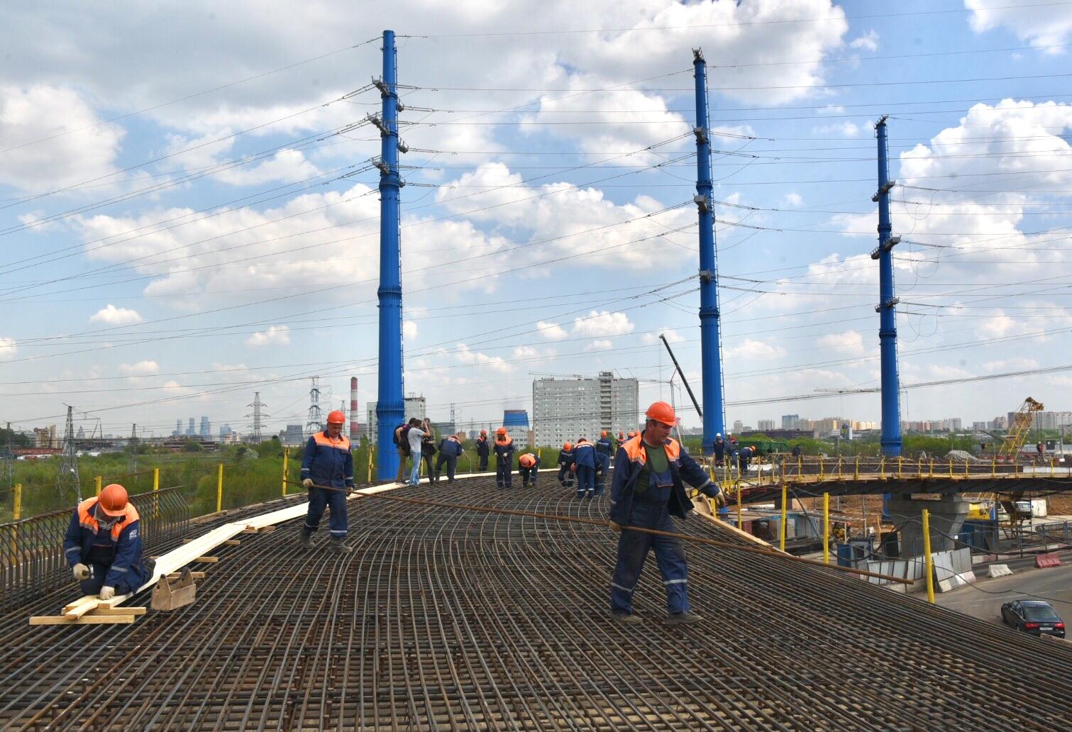 Реконструкция развязки с Липецкой улицы началась в Бирюлеве Восточном