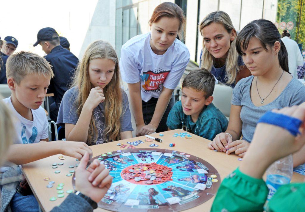 Интеллектуальный подростковый ринг пройдет в центре семьи «Берегиня». Фото: Светлана Колоскова, «Вечерняя Москва»