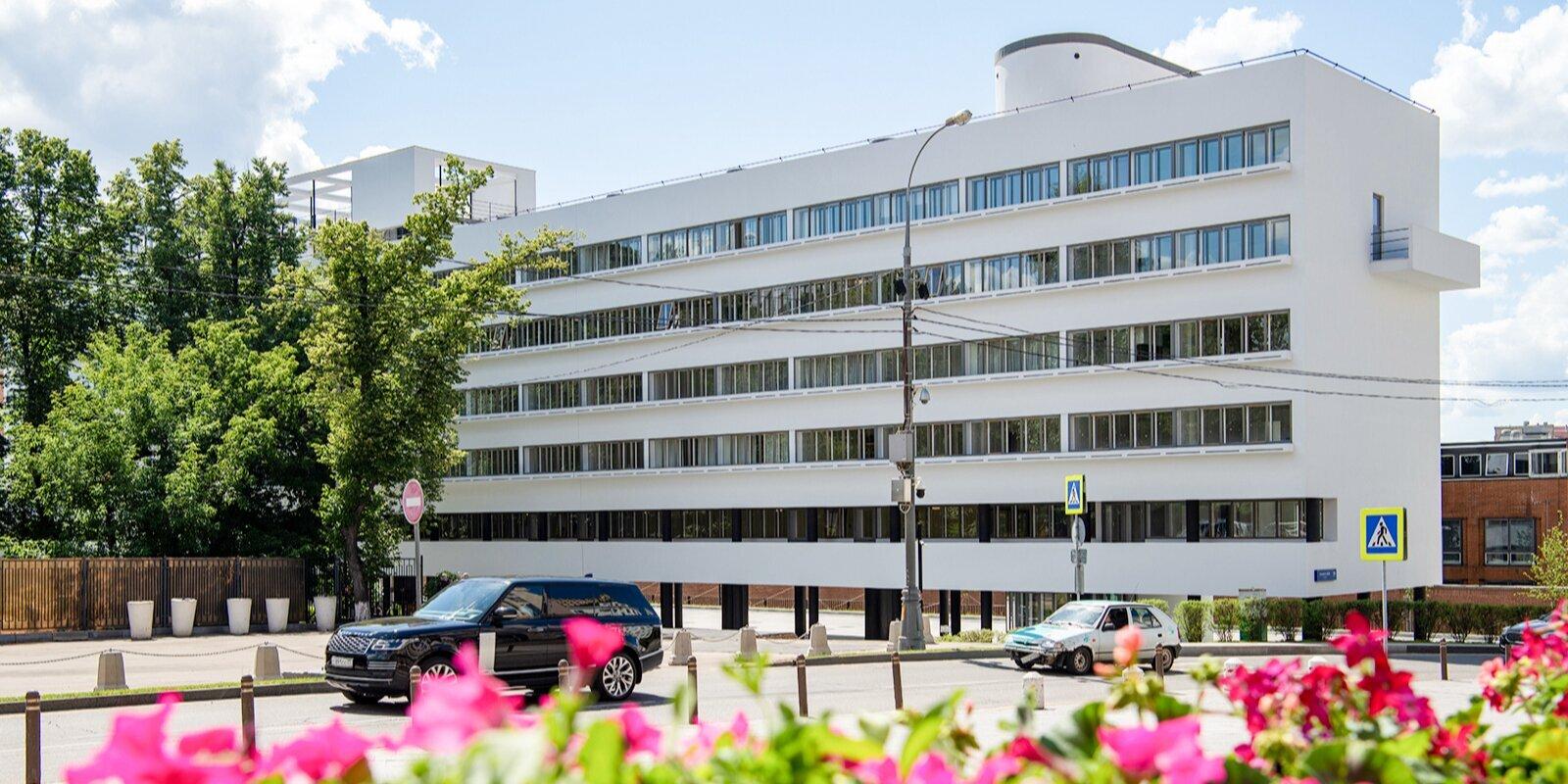 Портал «Узнай Москву» пригласил на виртуальную экскурсию по Дому Наркомфина