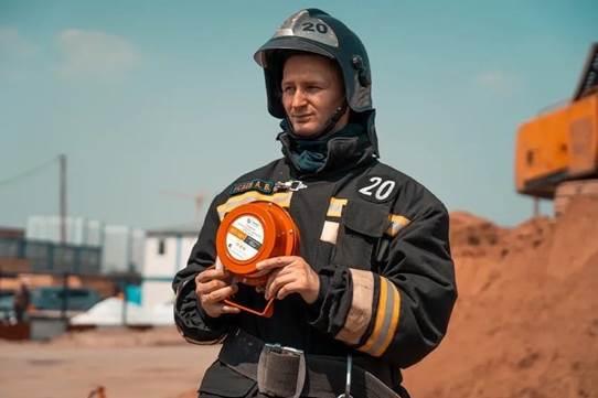 Огнеборцы 20 пожарно-спасательной части приняли участие в противопожарной тренировке на строительной площадке жилого квартала