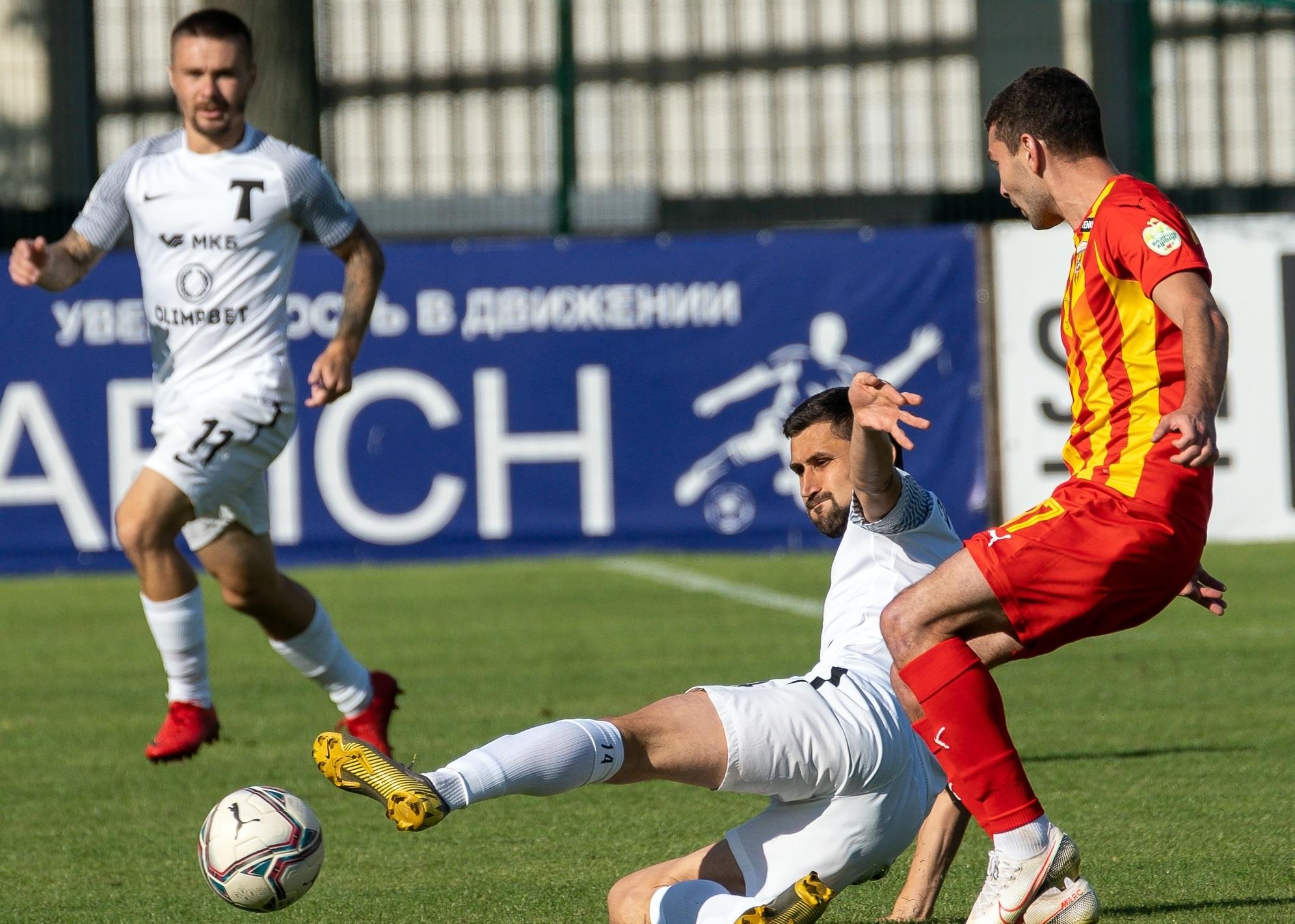 Футболисты «Торпедо» одержали победу на матче с «Аланией»