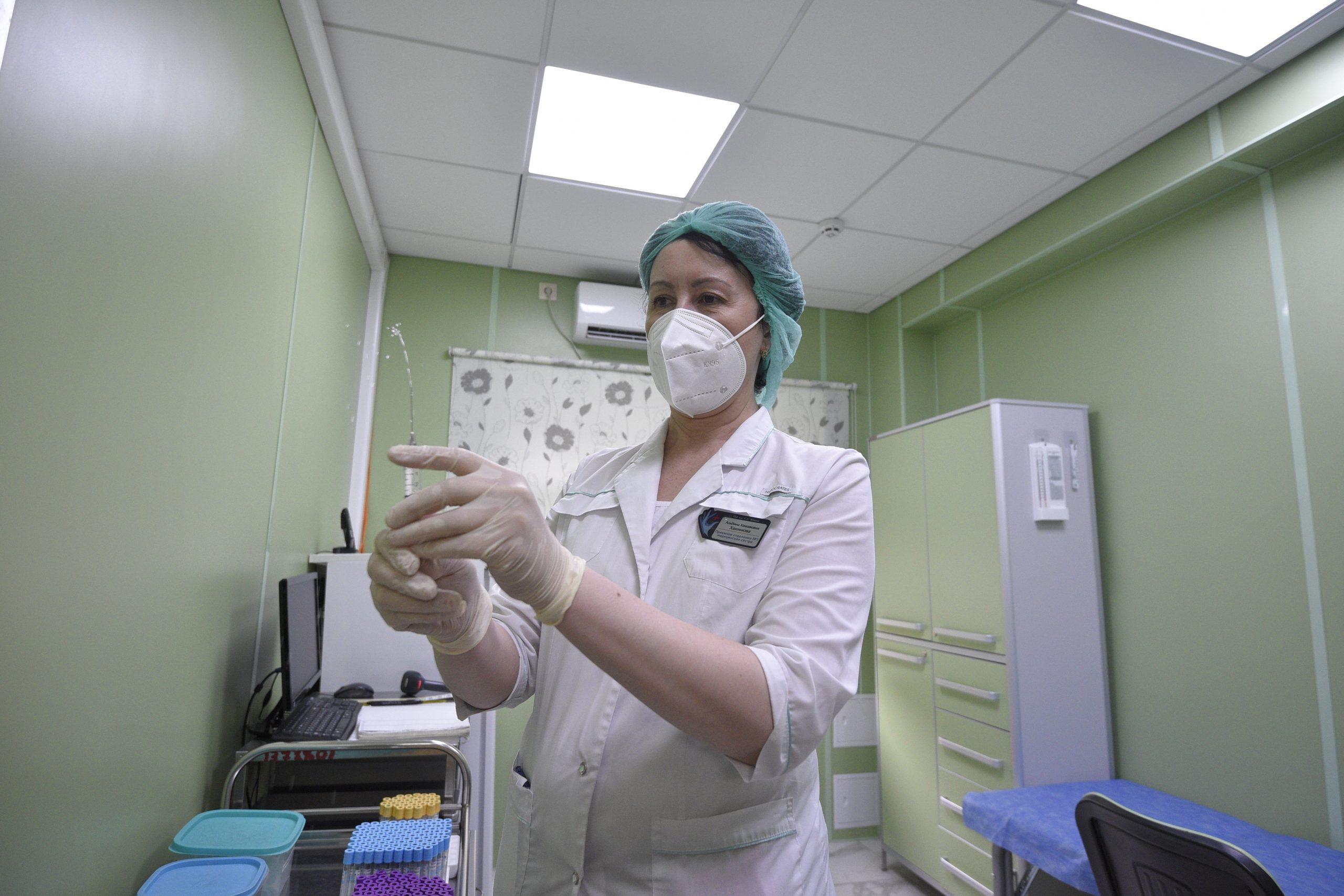 Оперштаб: в Москве за сутки коронавирусом заболели 5410 горожан