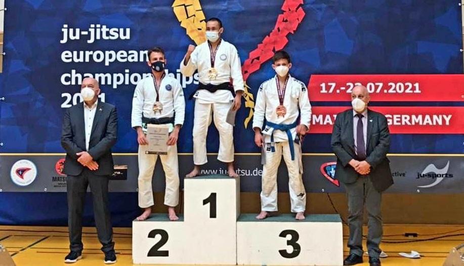 Воспитанник СШОР №47 стал Чемпионом Европы по джиу-джитсу
