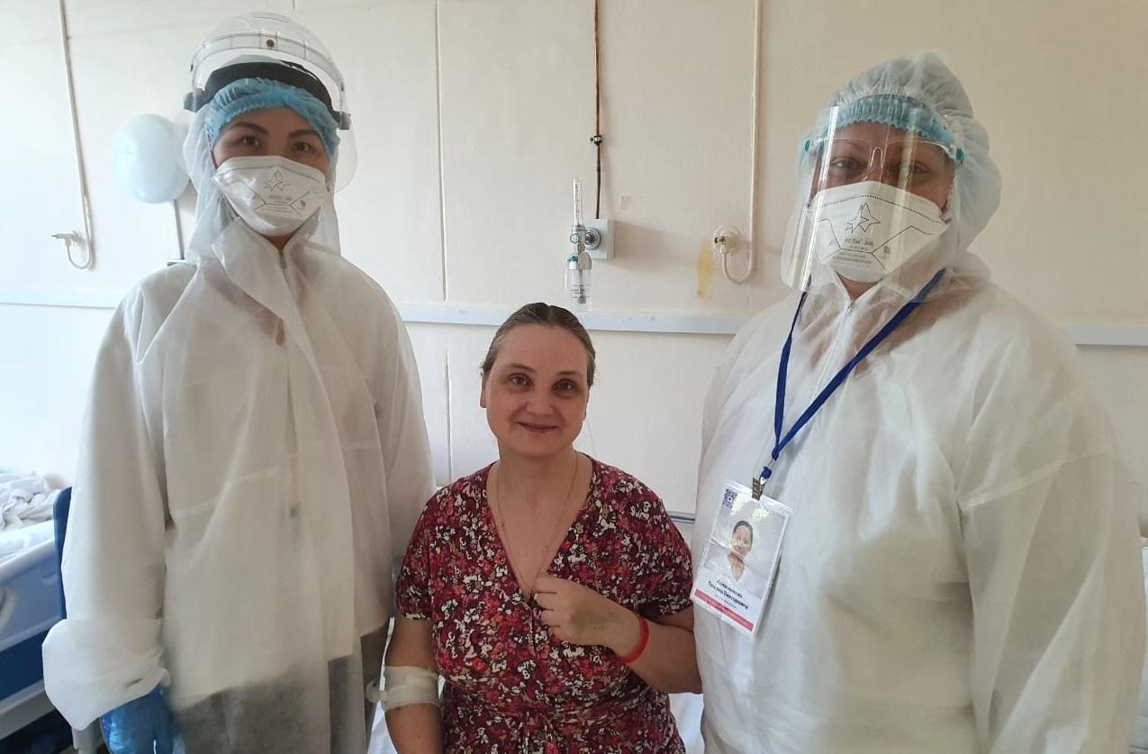 Врачи больницы №4 спасли пациентку со стопроцентным поражением легких