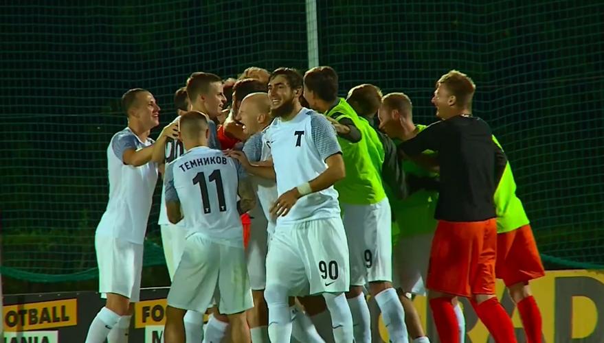 Клуб «Торпедо» разгромил «СКА-Хабаровск» серией пинальти