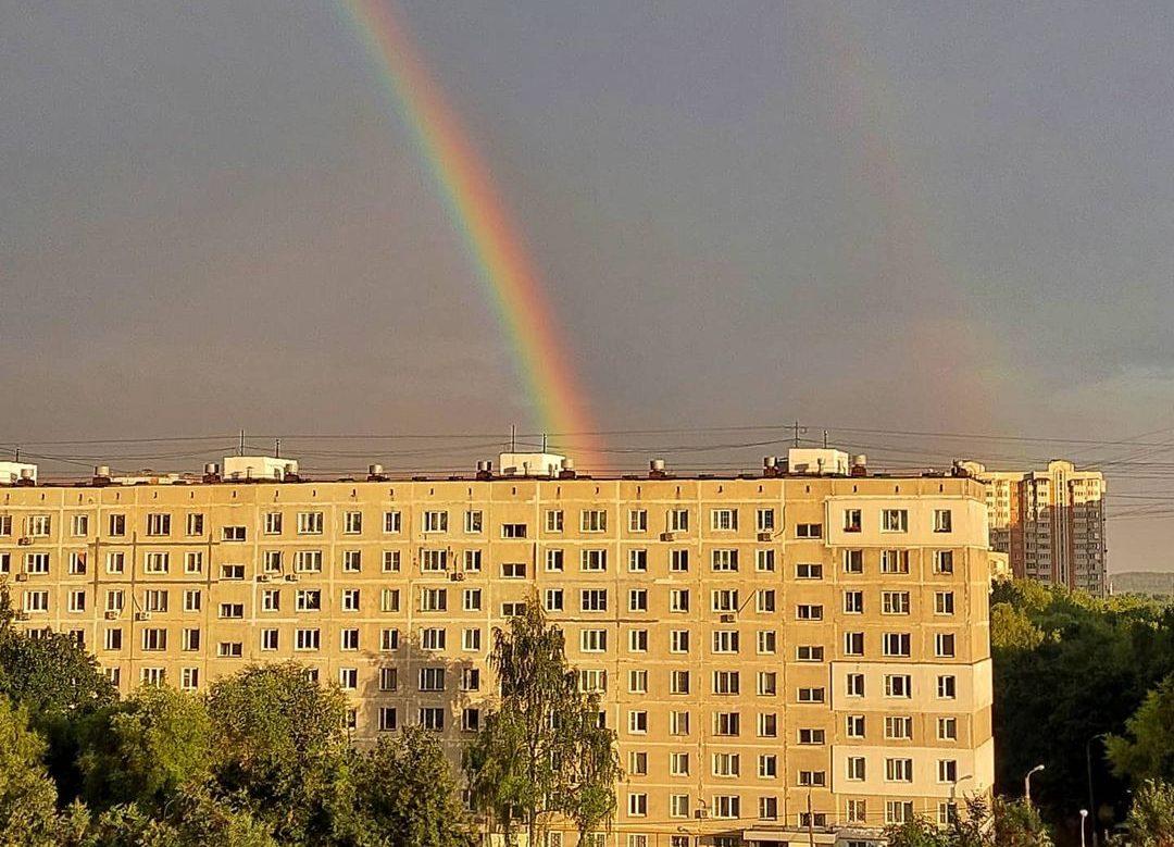 После дождя будет радуга