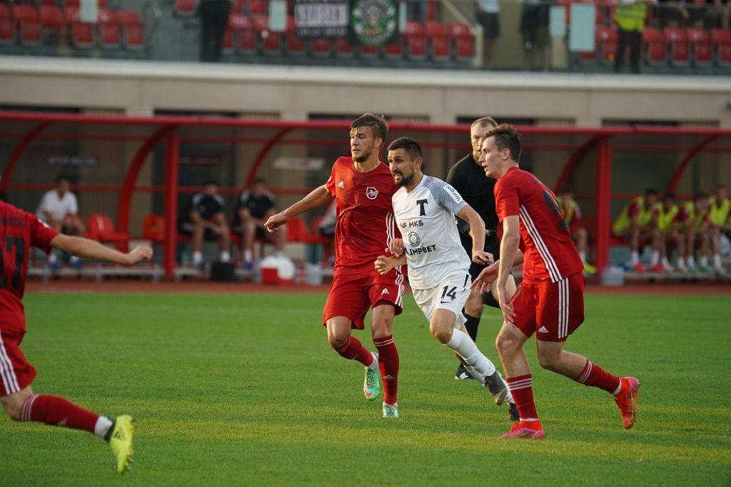 Футболисты «Торпедо» выиграли матч против «Олимпа-Долгопрудного»