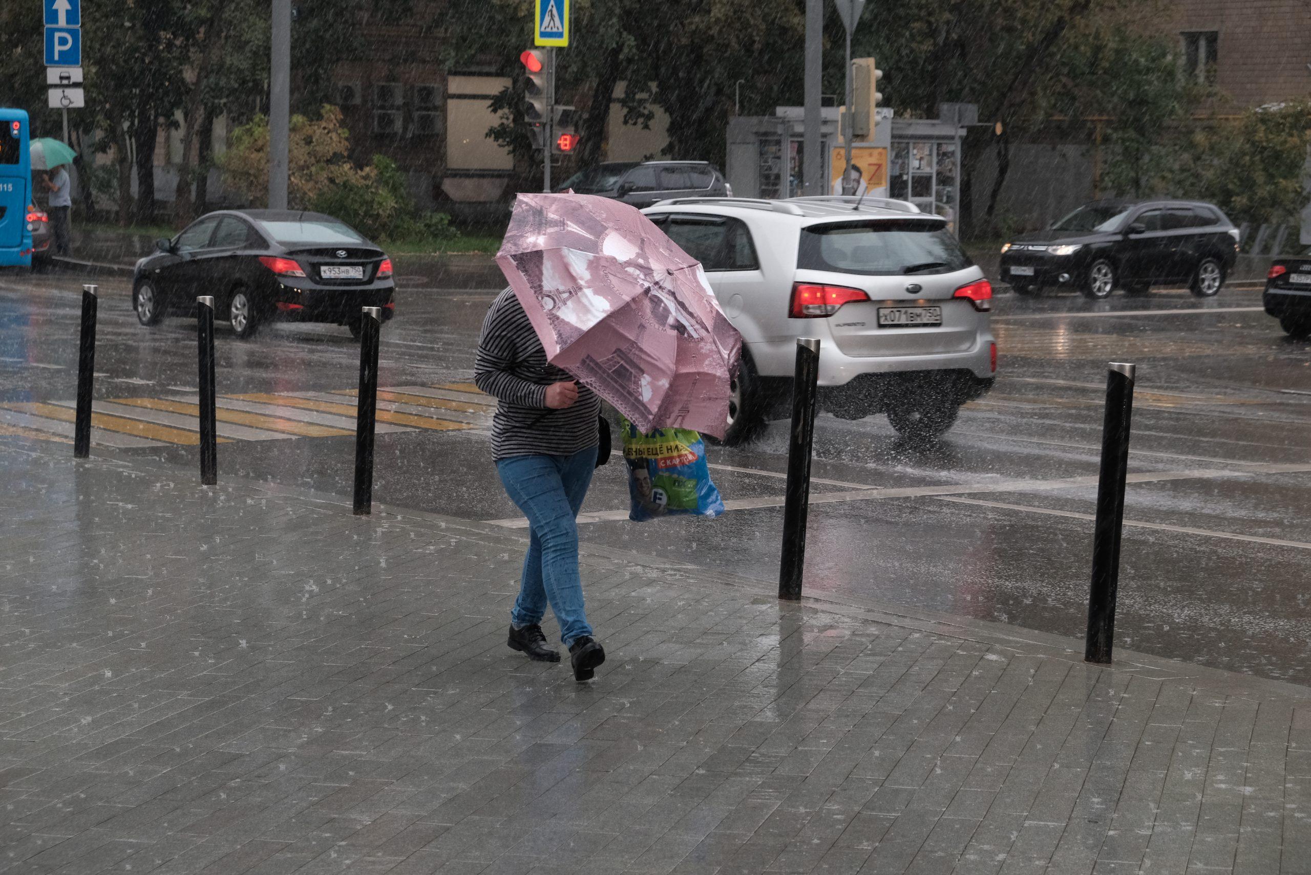Ухудшение погодных условий ожидается в столичном регионе