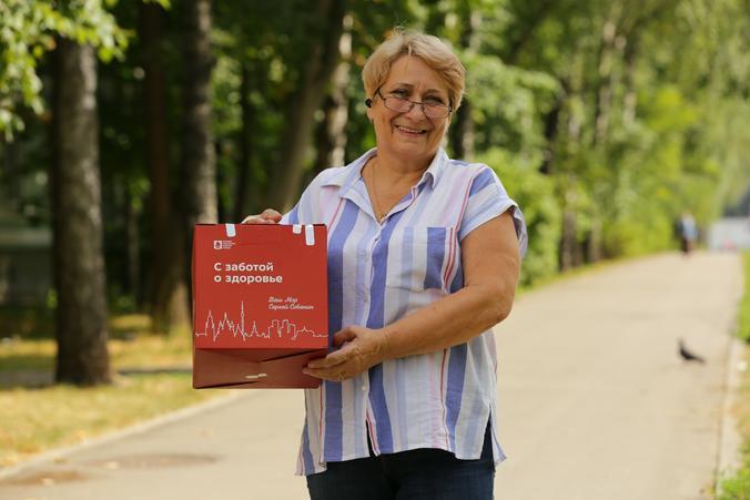 Почти 90 тысяч пенсионеров получили наборы «С заботой о здоровье» за два месяца