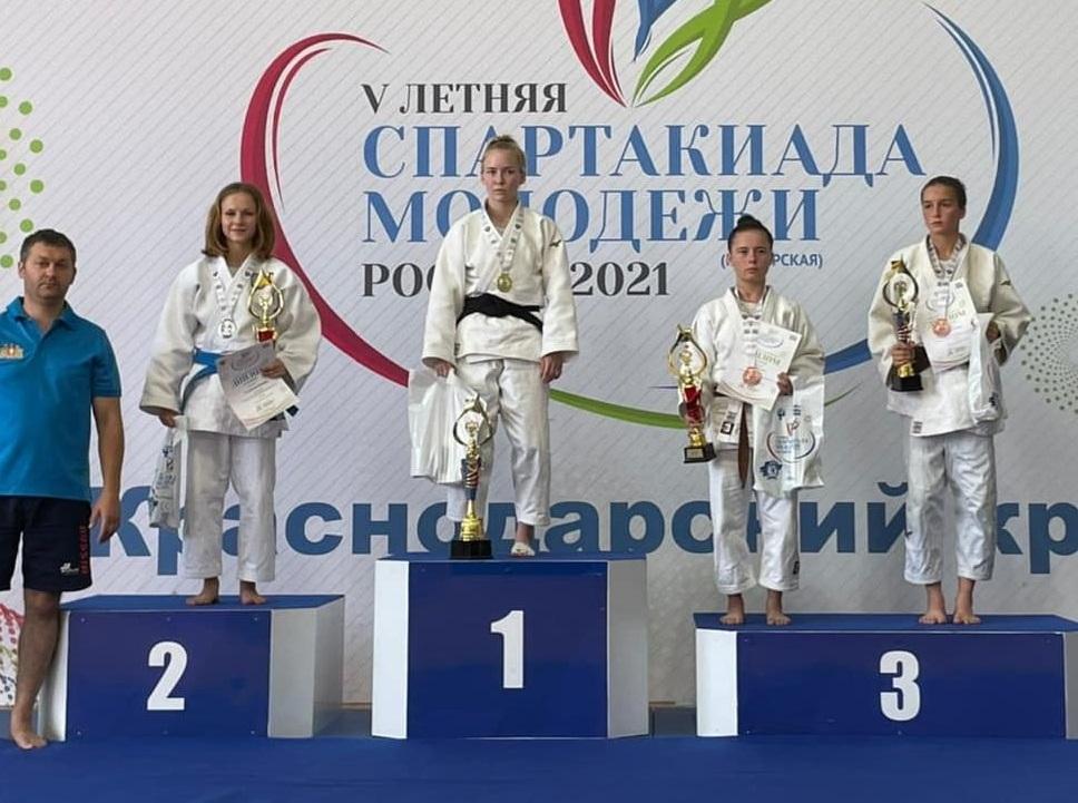 Серебряным призером на Всероссийской Спартакиаде стала воспитанница СШОР №47