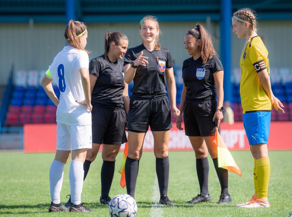 Женский клуб Чертаново» вышел в полуфинал Юношеской футбольной лиги