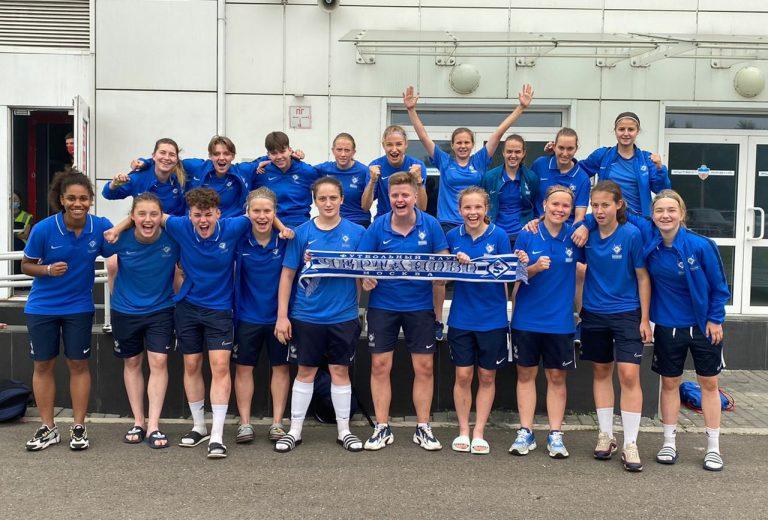 Женская команда «Чертаново» выиграла матч против клуба «Енисей»