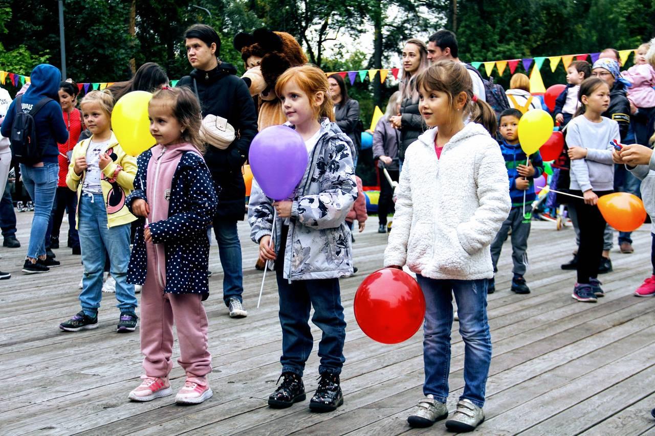 День города отпраздновали в парке «Сосенки»