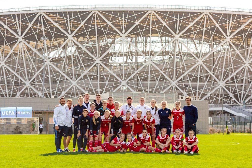 Футболистки из «Чертаново» выступили за сборную страны