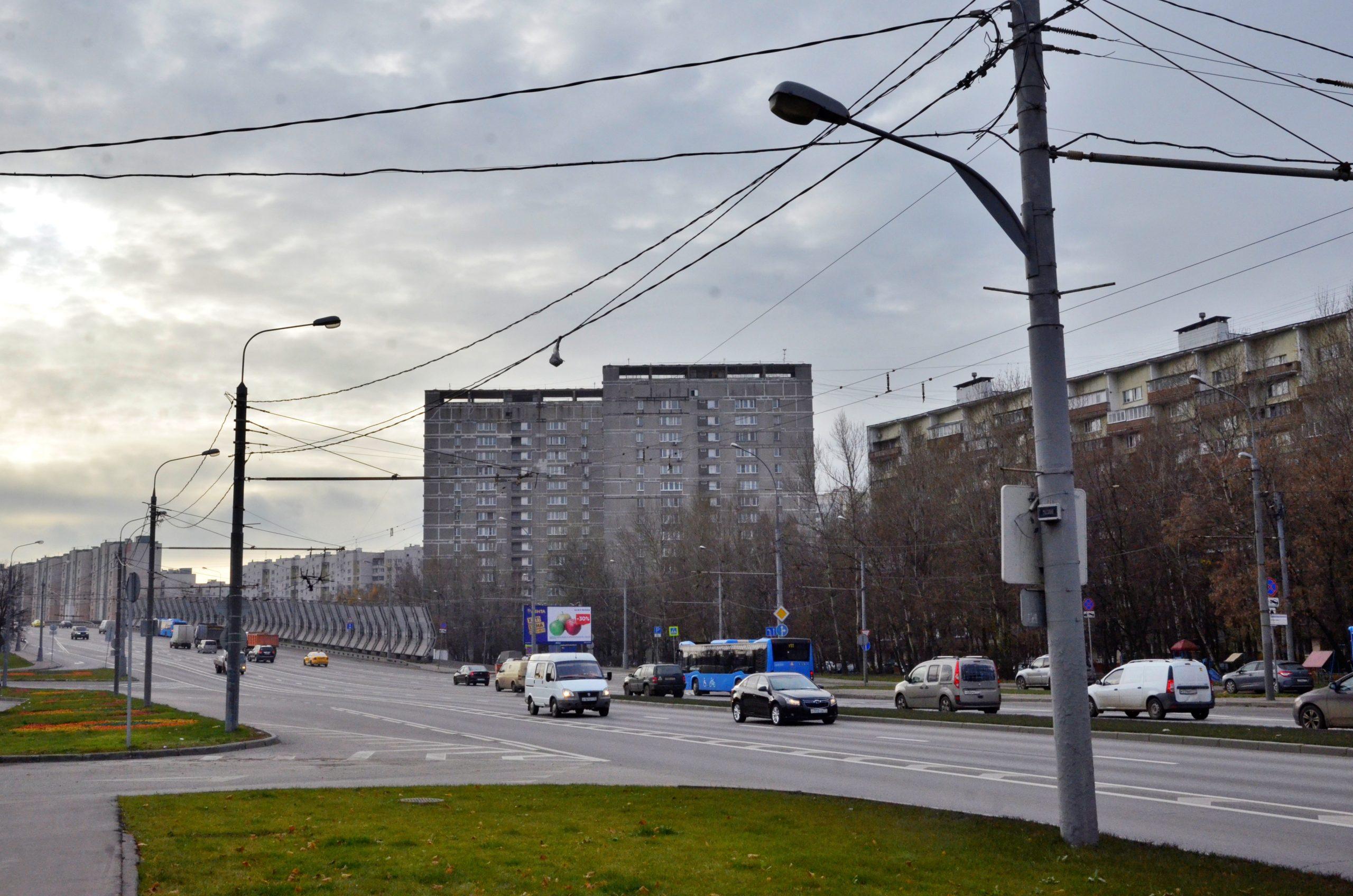 Реконструкция транспортной развязки автомобильной дороги с Липецкой улицей продолжается