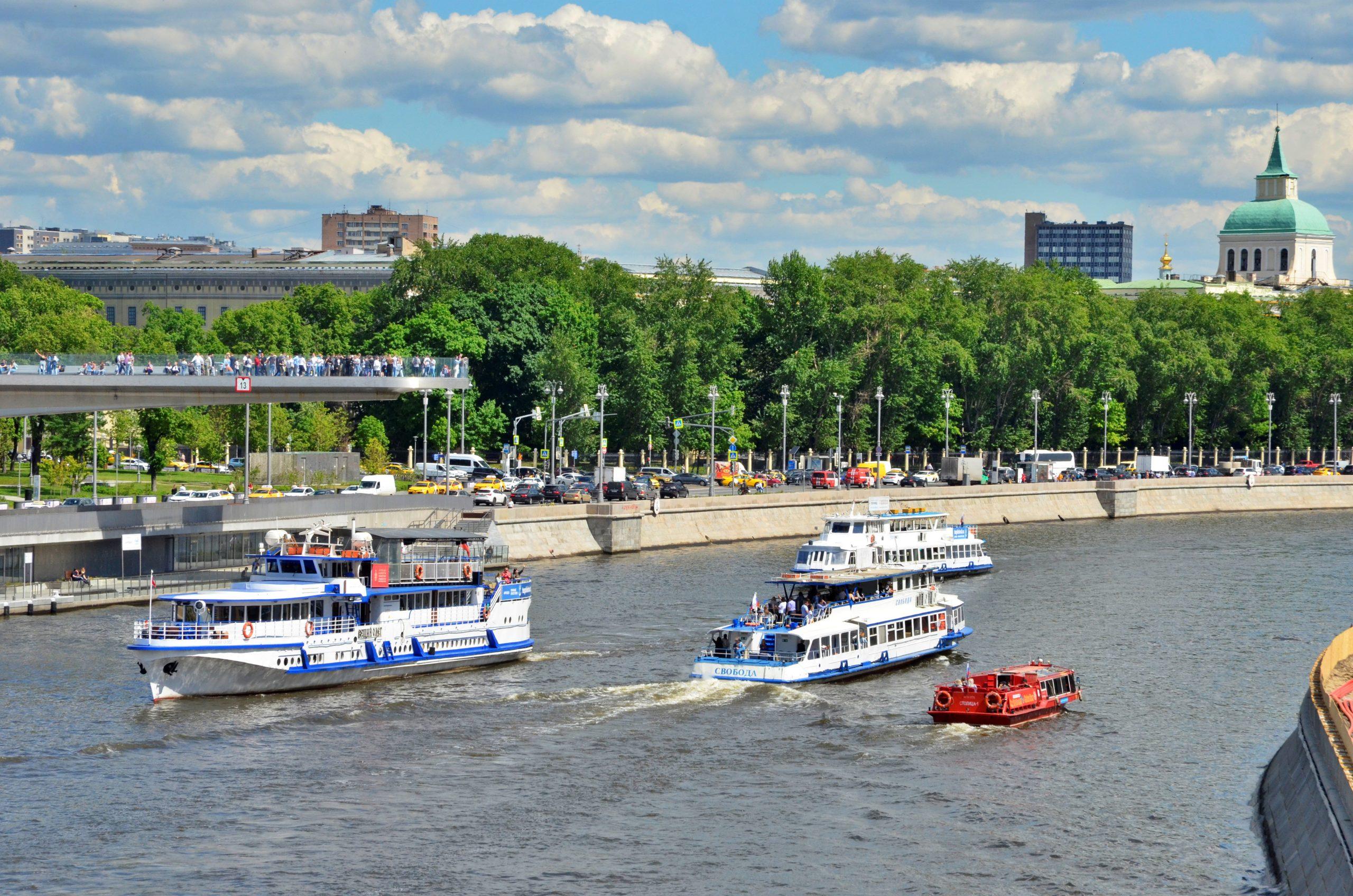 Москвичи отдадут голос за название электрического речного трамвая