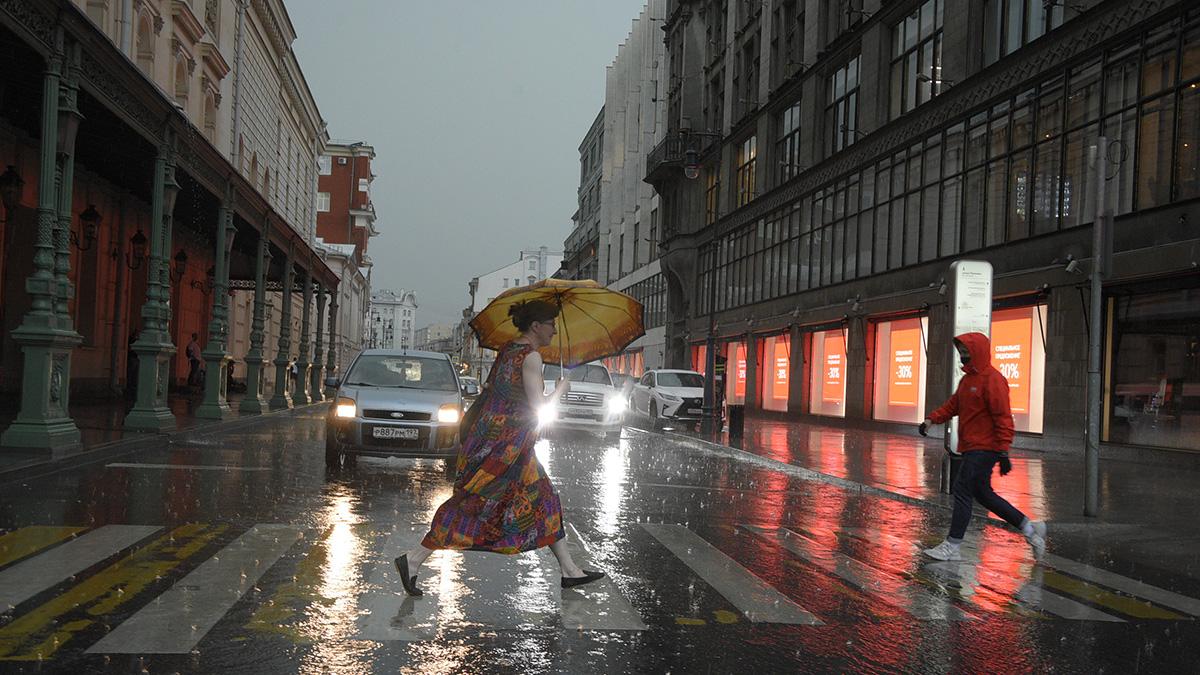 Жителей столицы и области ожидает дождливая погода