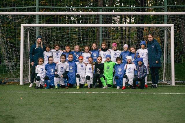 Представители клуба «Чертаново» рассказали о промежуточных итогах первенства среди девочек