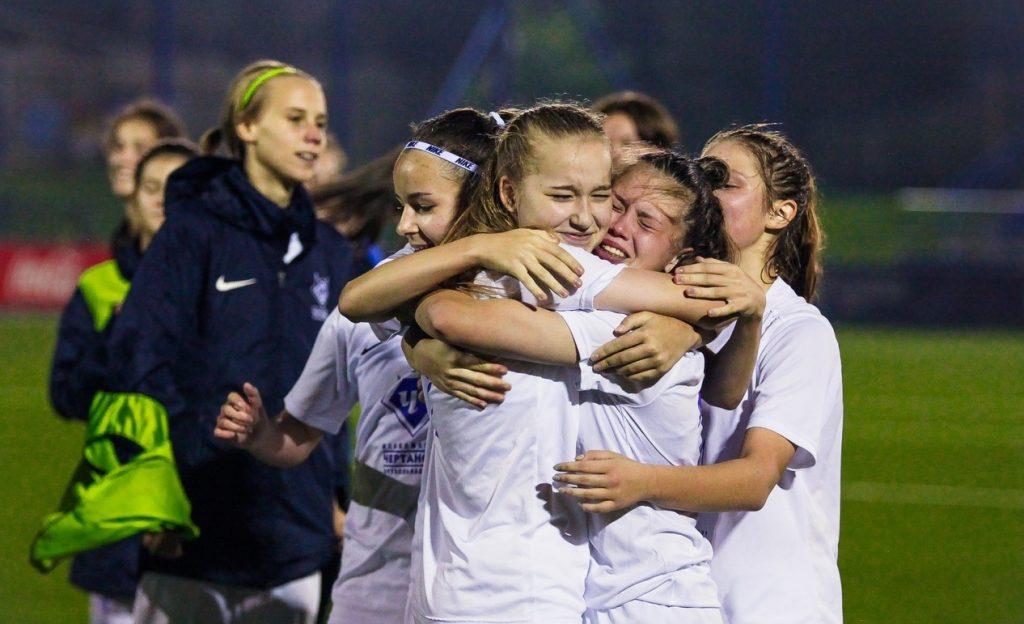 Женская команда «Чертаново» стала финалистом юношеской футбольной лиги