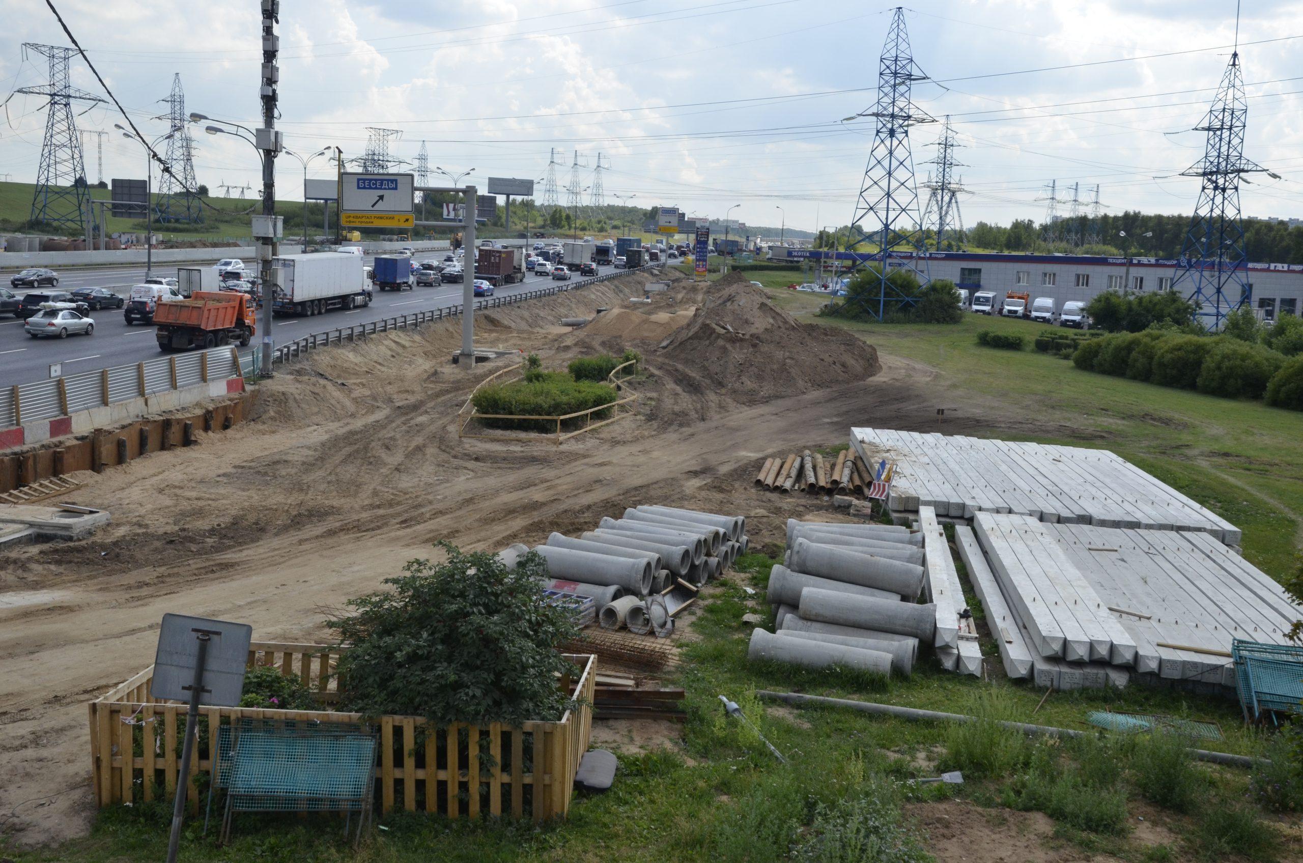 Реконструкцию четырех развязок автомобильной дороги завершат в 2024 году